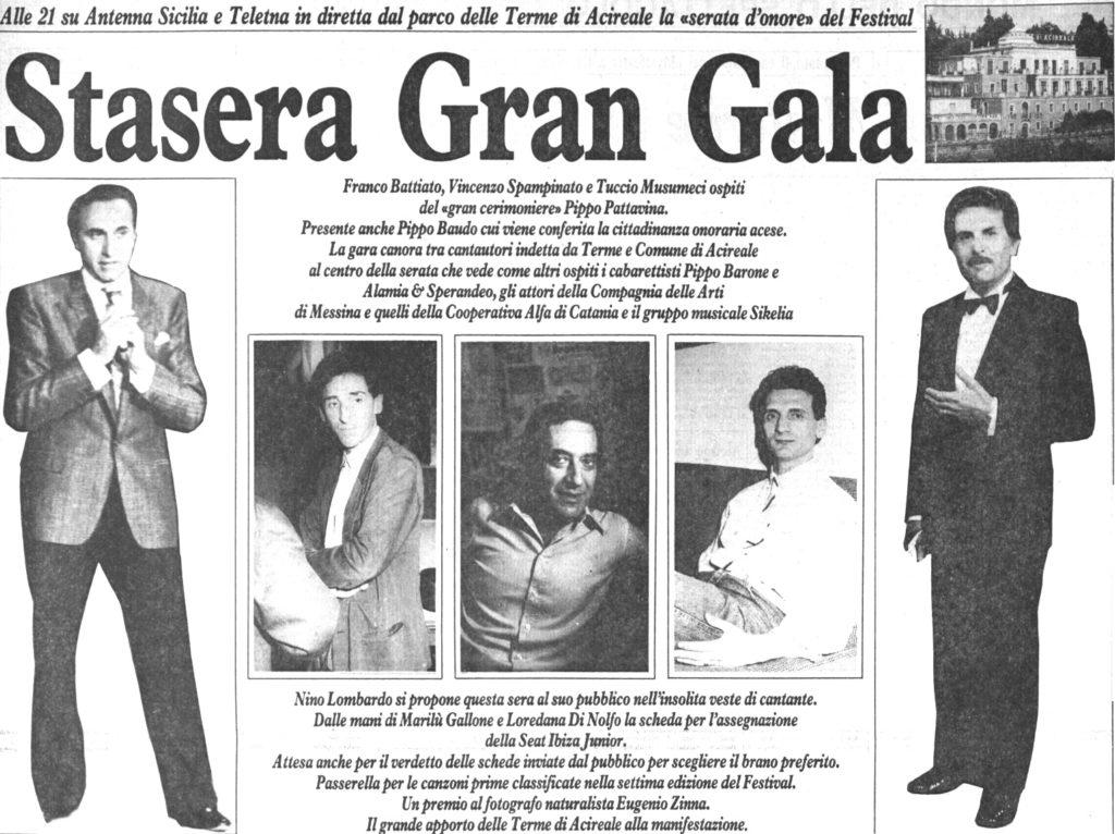 Stasera Gran Gala
