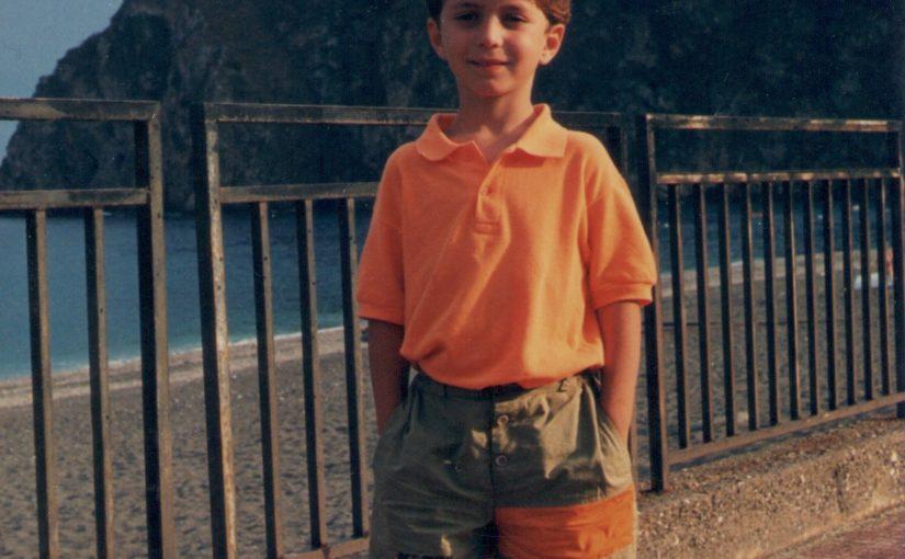 Sant'Alessio Siculo (ME), agosto 1990