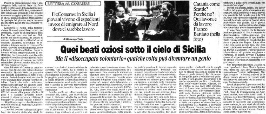 Quei beati oziosi sotto il cielo di Sicilia