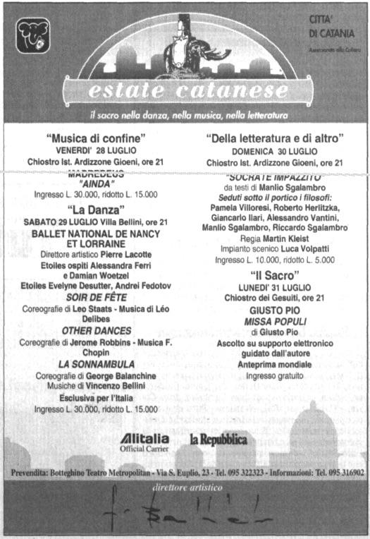 Estate catanese '95 1995-07-27
