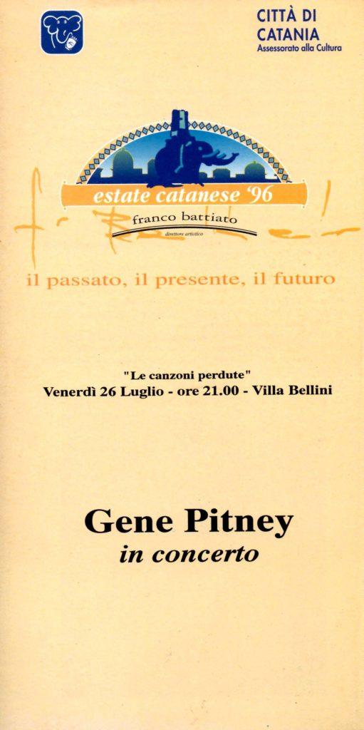 Gene Pitney in concerto