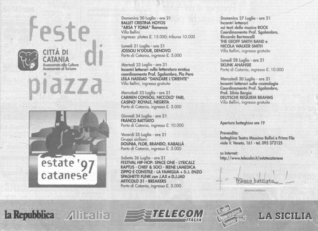 Estate catanese '97