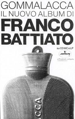 Gommalacca il nuovo album di Franco Battiato
