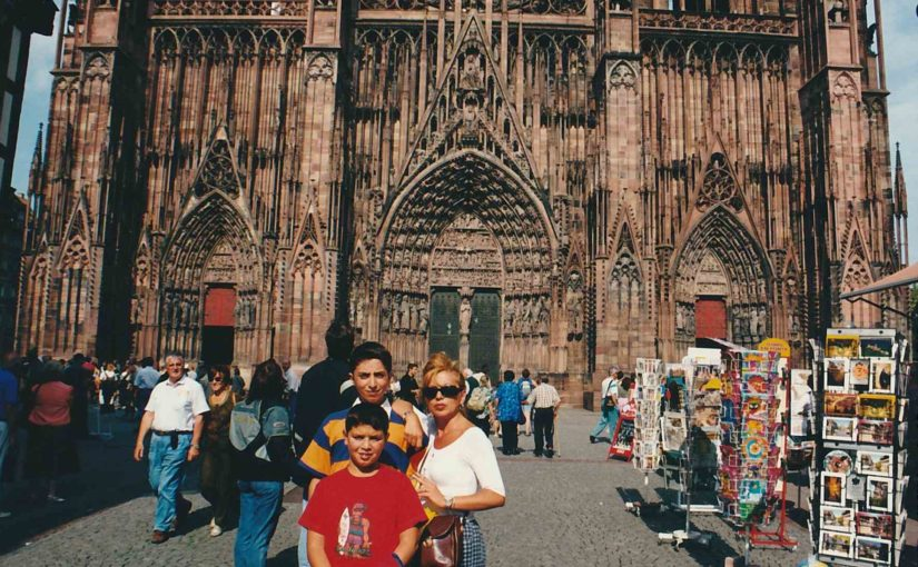 Strasburgo 🇫🇷 [Strasbourg], agosto 2000